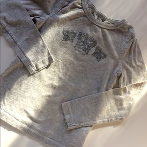 Girl's OshKosh Butterfly Long Sleeve Shirt
